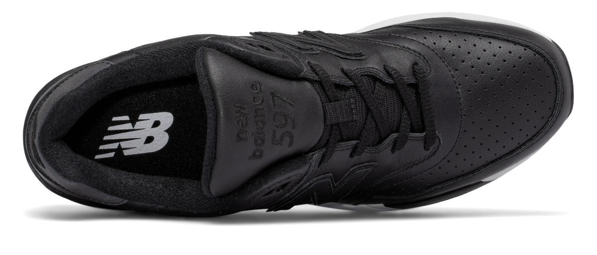New Balance 597 Leather Uomo Nero [ML597BLL] Running Classics