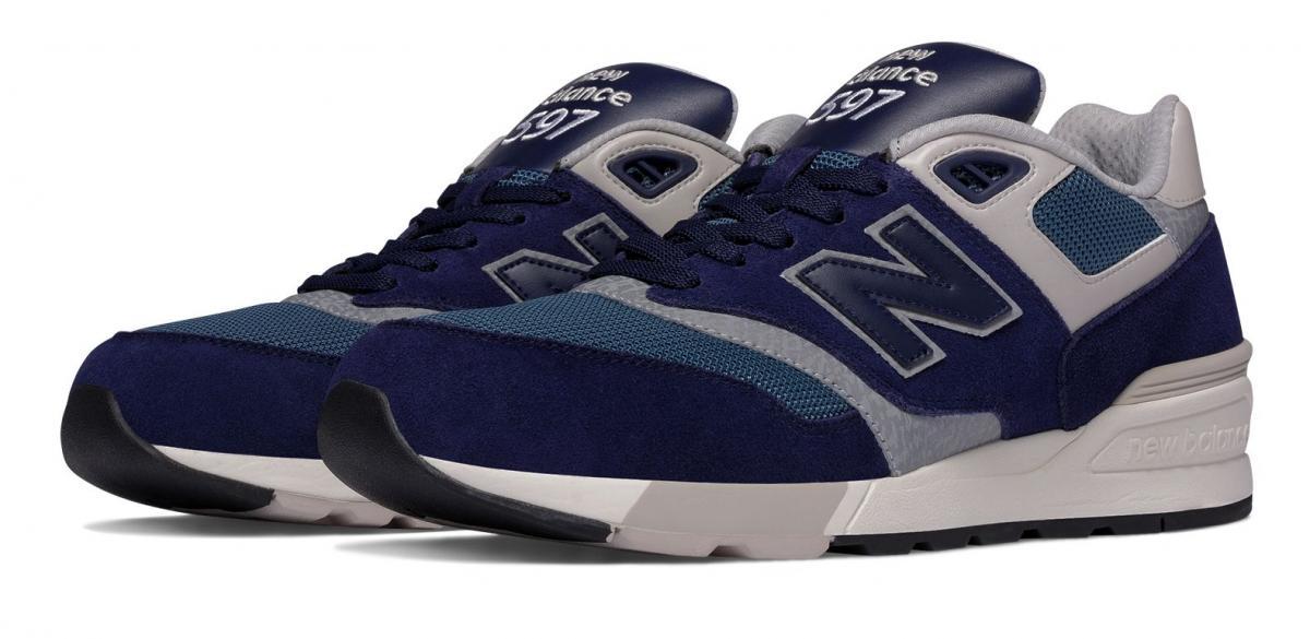 New Balance 597 Uomo Nero [ML597AAA] Running Classics
