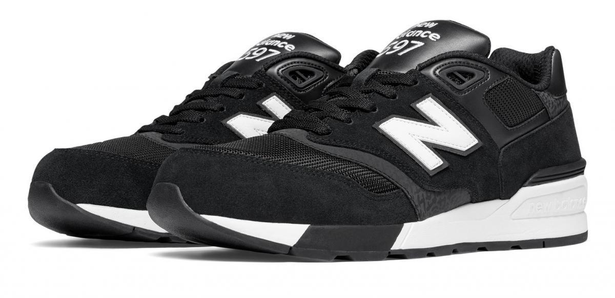 New Balance 597 Uomo Nero [ML597AAC] Running Classics