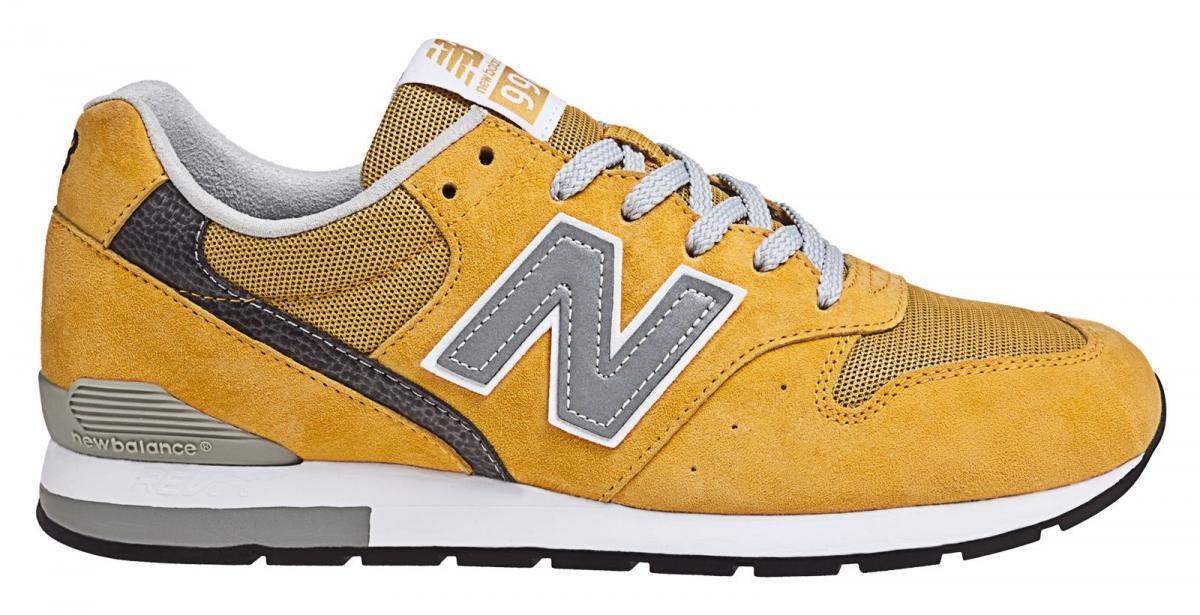new balance 574 gialle uomo
